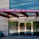 Front of Kemper Hall